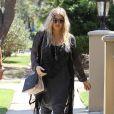 Exclusif - Fergie, enceinte, à Los Angeles, le 30 mai 2013.
