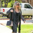 Exclusif - Fergie, enceinte dans les rues de Los Angeles, le 30 mai 2013.