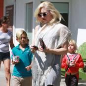 Gwen Stefani : Pause gourmande avec ses adorables fistons