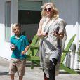 Gwen Stefani et Kingston à Los Angeles, le 30 mai 2013.