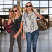 Reese Witherspoon avec Ava, sa copie conforme... En route pour Paris !