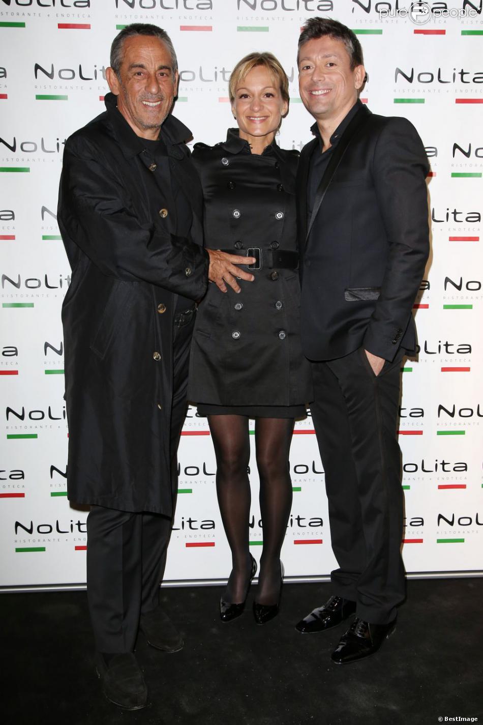 Thierry ardisson sa compagne et les stars du paf r unis pour jacques sanchez purepeople - Sonia mabrouk son mari ...