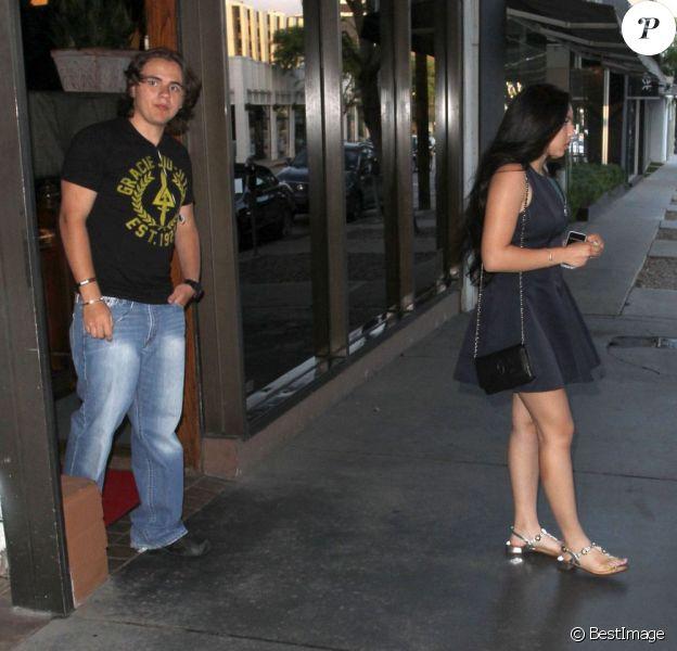 Prince Jackson et sa petite amie Remi Alfalah à West Hollywood, le 3 juin 2013.