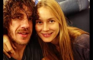 Carles Puyol : En couple avec Vanesa Lorenzo, la star du Barça ne se cache plus