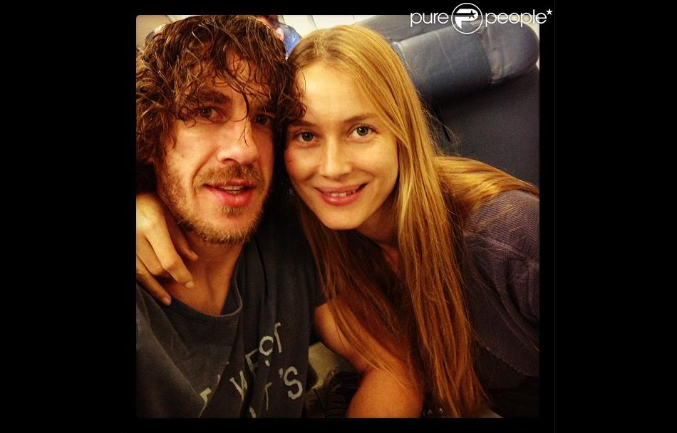 Carles Puyol couple