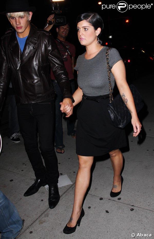 Kelly Osbourne et Luke Worrell