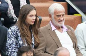 Roland-Garros 2013 : Jean-Paul Belmondo et sa petite-fille, complices pour Nadal