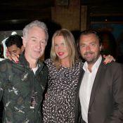 Roland-Garros 2013 : Henri Leconte et sa belle Florentine entourés de Légendes