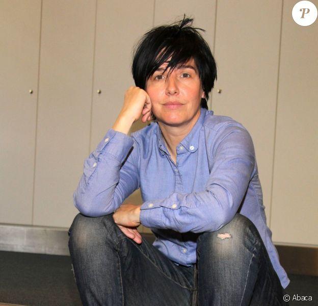 Sharleen Spiteri dans les studios de la Radio Hamburg en Allemagne, le 10 juin 2013.