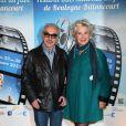Danièle Gilbert et Patrick Semana en mars 2012 à Boulogne