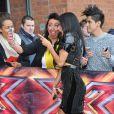 Nicole Scherzinger, le 15 juin 2013 à Manchester lors des auditions d'X Factor.