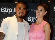 Kevin-Prince Boateng et Melissa Satta : Amoureux et stars d'une grande soirée