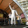 Patrick Dempsey participait à la présentation des pilotes et des équipages qui particperont aux 24 Heures du Mans les 22 et 23 juin prochains dans les rues du Mans le 16 juin 2013