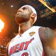 LeBron Jameslors du match 7 des finales NBA à Miami, le 20 juin 2013.