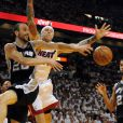 Manu Ginobililors du match 7 des finales NBA à Miami, le 20 juin 2013.
