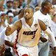 Dwyane Wadelors du match 7 des finales NBA à Miami, le 20 juin 2013.
