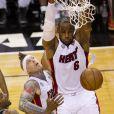 LeBron Jameslors du match 6 des finales NBA à Miami, le 18 juin 2013.