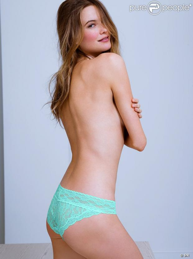 L'irrésistible Behati Prinsloo ose le topless pour Victoria's Secret.
