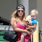 Hilary Duff : Fan numéro 1 de son craquant Luca, country girl sexy avec son mari