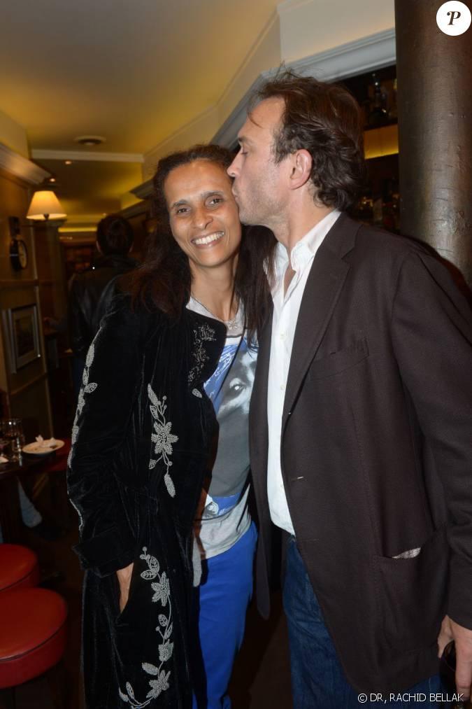 Karine silla et vincent perez la soir e d 39 inauguration de la boutique stone 60 rue des saint for La boutique de la silla