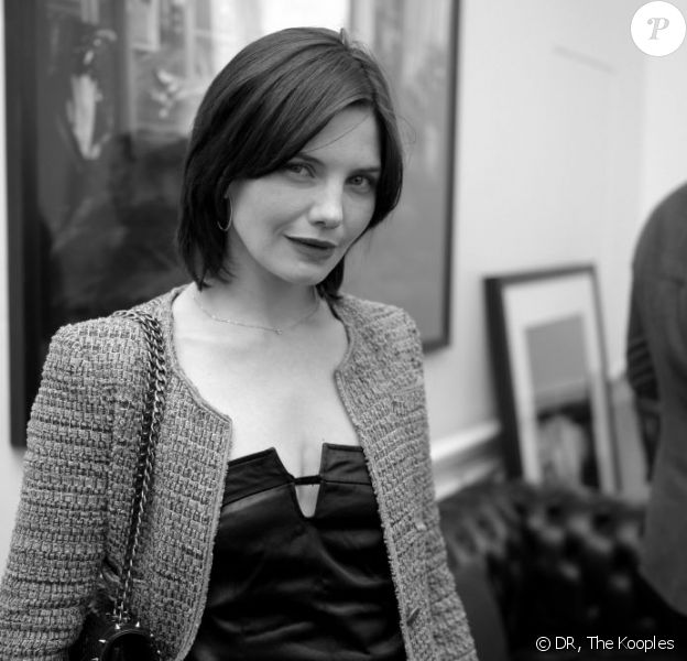 Delphine Chanéac à la soirée The Kooples le 26 juin 2013 à Paris