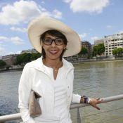 Audrey Pulvar et Mathilda May : Croisière blanche sous le soleil parisien