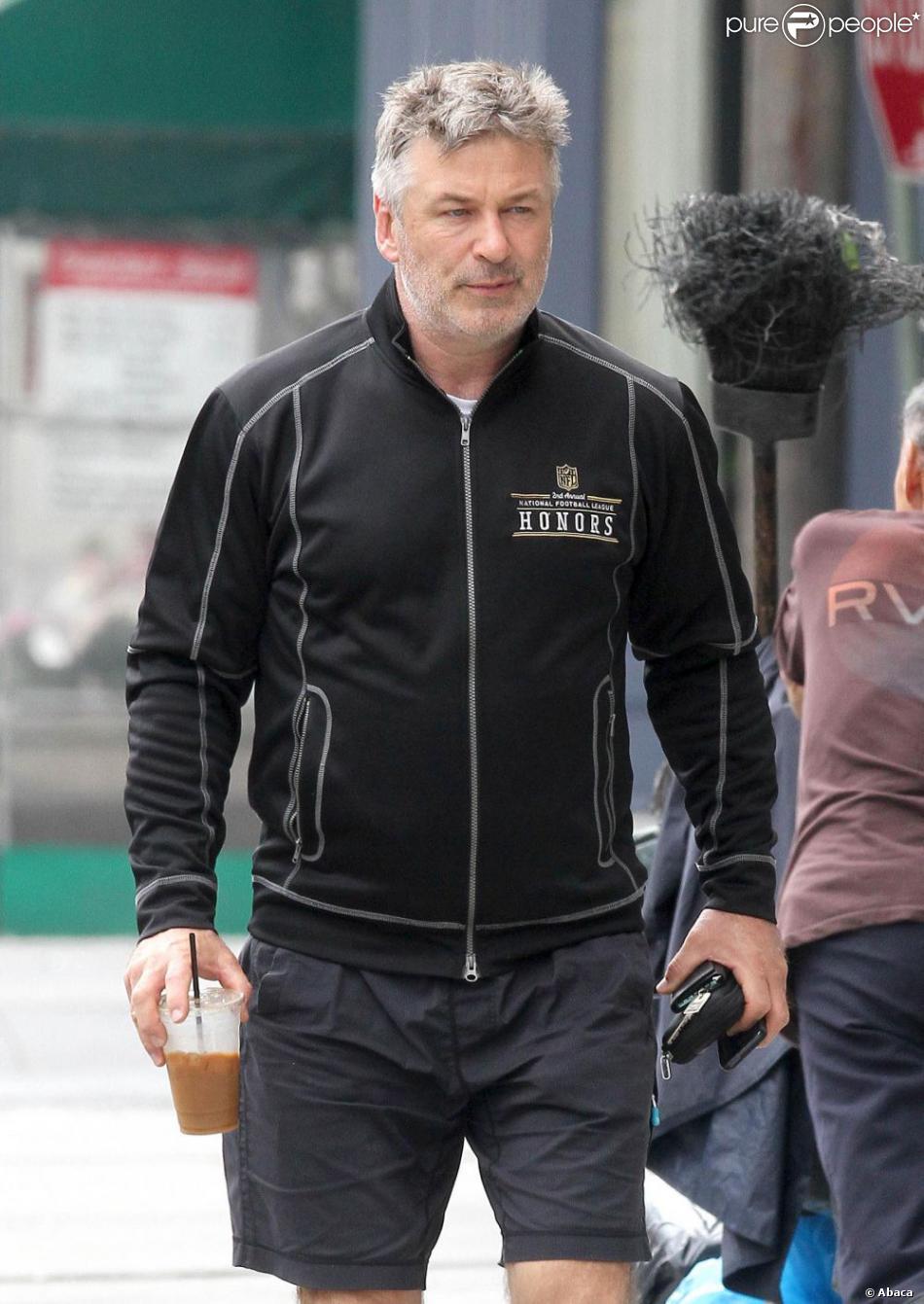Alec Baldwin se rendant à son club de gym à New York le 3 juin 2013