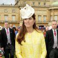 Kate Middleton, enceinte, le 22 mai 2013.