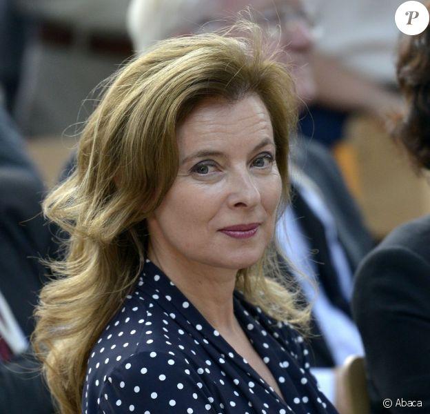 Valérie Trierweiler accompagnait François Hollande lors d'une visite officielle à Tunis, le 4 juillet 2013