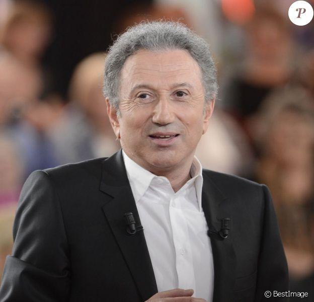 Michel Drucker en mai 2013 à Paris