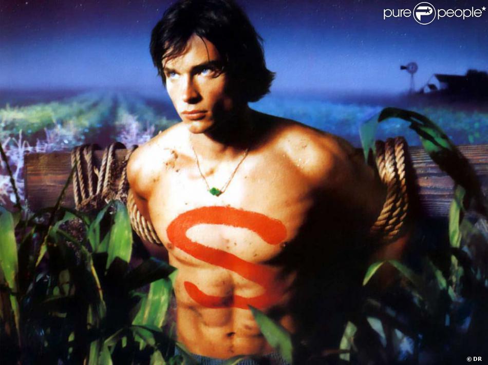 Affiche promo de la série Smallville.