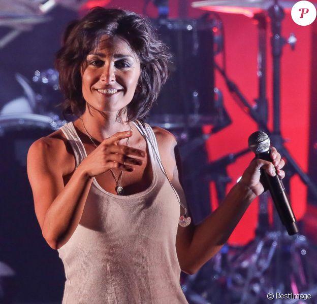 Exclusif - Concert de Jenifer à l'hippodrome de Marcq-en-Baroeul devant plus de 15 000 personnes. Le 14 juillet 2013.