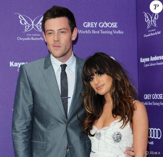 Dernière apparition publique de Cory Monteith et Lea Michele pour le Chrysalis Butterfly Ball à Los Angeles, le 8 juin 2013.