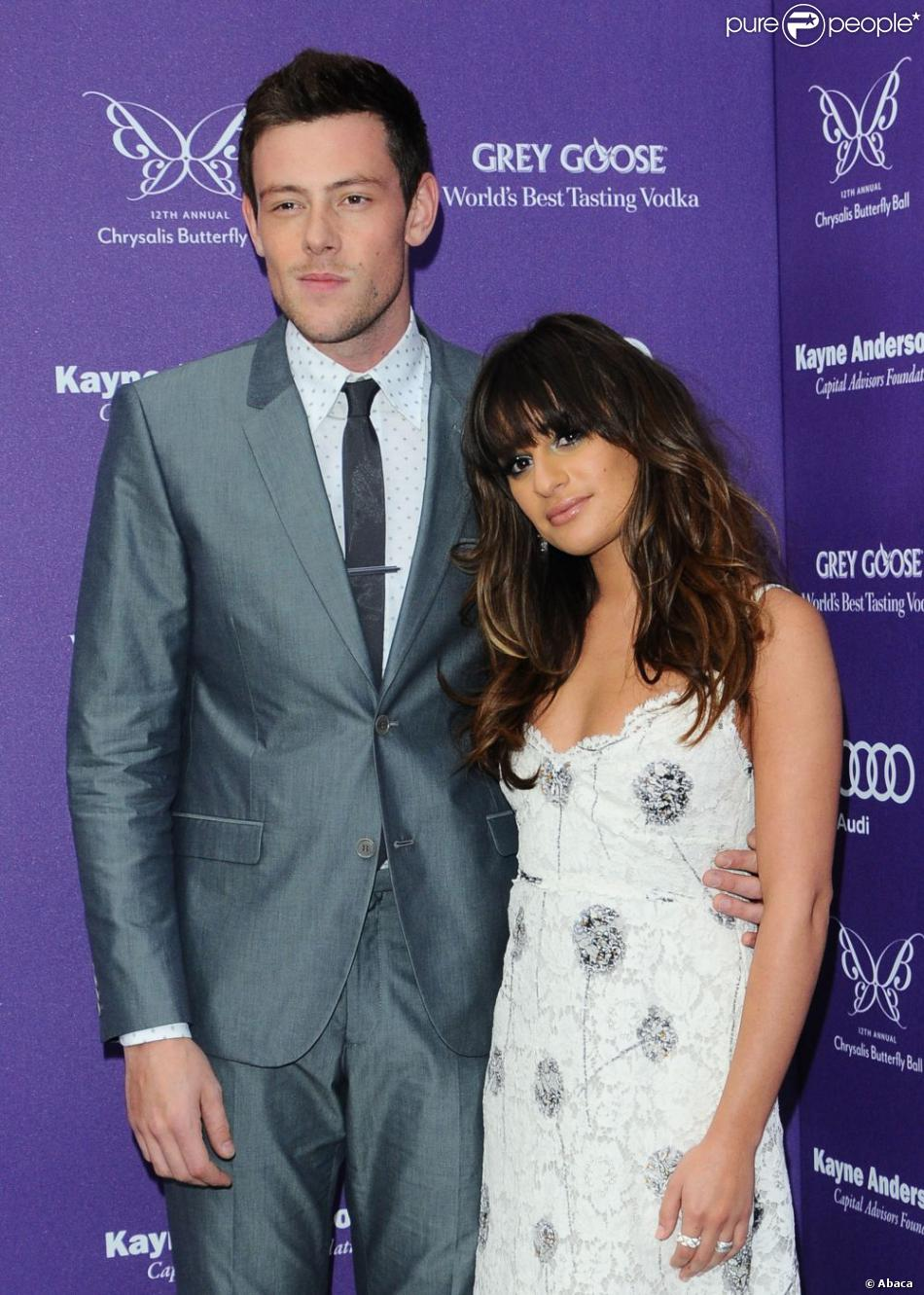 Lea Michele et Cory Monteith Dating 2011