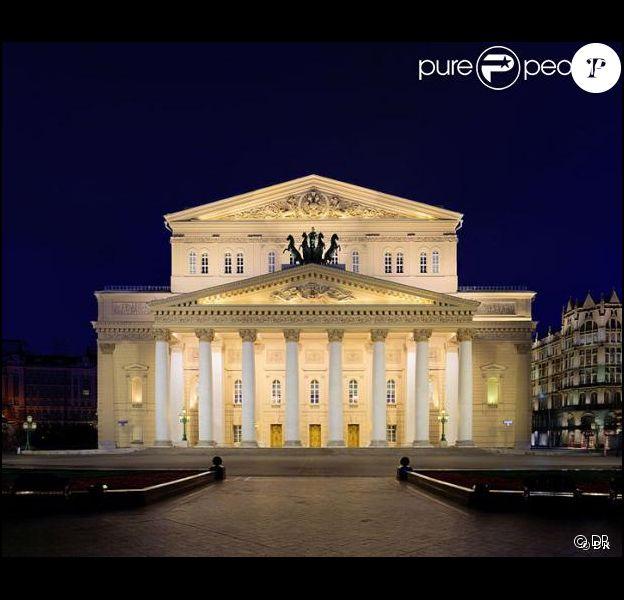 Le théâtre du Bolchoï à Moscou