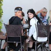 Kylie Jenner et Jaden Smith : Duo tactile devant la petite Willow Smith