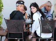 Kylie Jenner et Jaden Smith : Duo tactile devant la petite Willow Smith