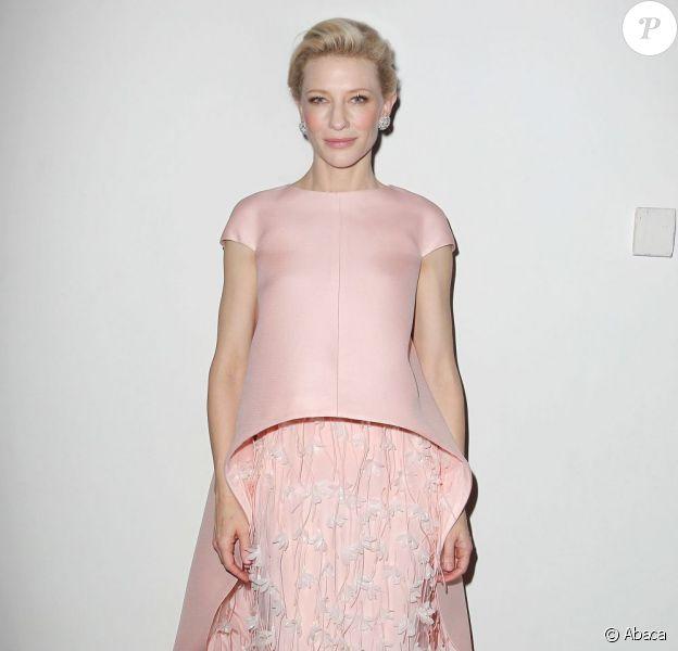 Cate Blanchett en Balenciaga pour la première de Blue Jasmine à New York, le 22 juillet 2013.