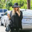 Fergie, enceinte et son mari Josh Duhamel se rendent dans leur nouvelle maison de Los Angeles, le 22 juillet 2013.