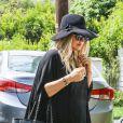 Fergie et Josh Duhamel se rendent dans leur nouvelle maison de Los Angeles, le 22 juillet 2013.