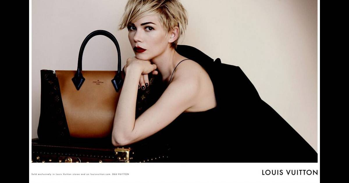 michelle williams sublime g rie pour louis vuitton elle respire la mode. Black Bedroom Furniture Sets. Home Design Ideas