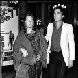 Romy Schneider et Daniel Biasini à Cannes en 1977