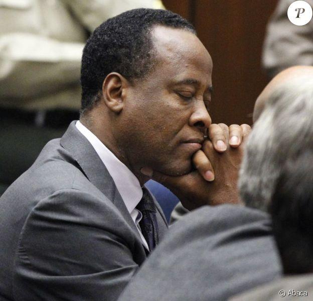 Dr. Conrad Murray pendant son procès à Los Angeles, le 29 novembre 2011.