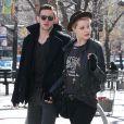 Evan Rachel Wood et Jamie Bell à New York, le 20 février 2012.