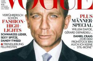 PHOTOS : Daniel Craig, un bel homme au sommet de la Vogue !
