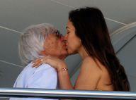 Bernie Ecclestone : Tendre baiser avec sa très jeune épouse Fabiana Flosi