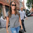 Tamara Ecclestone sur King's Road à Londres le 31 juillet 2013