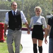 Britney Spears : En robe moulante peu flatteuse à la messe avec son David...