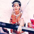 Rihanna, ultra sexy pour la parade du festival Crop Over 2013 à la Barbade. Le 5 août 2013.