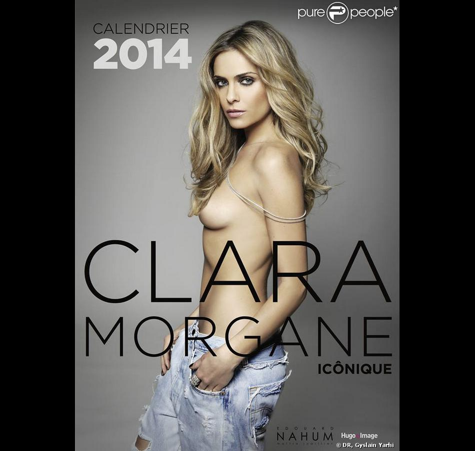 La couverture du calendrier 2014 de Clara Morgane